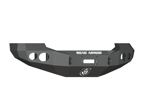 Road Armor 60500B Satin Black Front Stealth Winch Bumper for Ford Super Duty (Road Armor Ford)