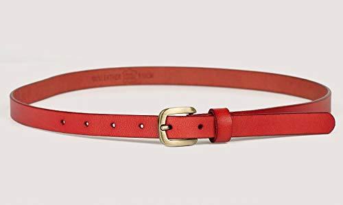 femme Ceintures boucle Rouge femme robe jupe belt ardillon Fashion SExwTT