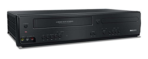 Philips DVP3355V/F7 DVD/VCR Player (Black) (Renewed)