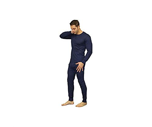 f1e95f796760 Men s 2 pc Thermal 100% Pure Cotton(240 gsm) Long Sleeve Top and Long John  Set (1190 1290). by elegance1234