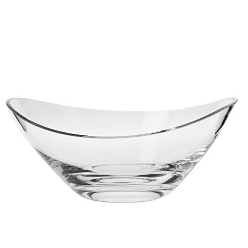 Krosno Swoop Bowl, Handmade, 9-inch dia.