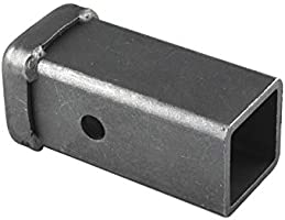 12 inch Long Combo Bar with 2 inch Hitch Receiver Raw Finish TOPTOW Trailer Hitch Weld-on Receiver Tube 64455