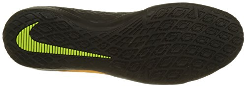 Nike Mens Hypervenomx Phelon Iii Indoor Scarpe Da Calcio Laser Arancione / Nero