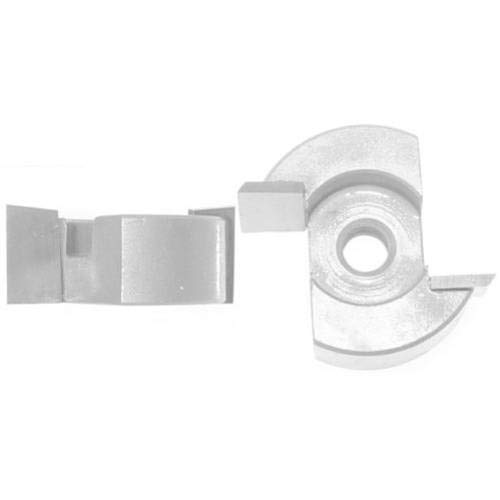 - OKSLO Magnate 3349 Screw Type Mortising Cutter â 1-1/4 Cutting Diameter; 5/8 Cutting H