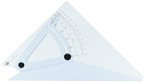 Alvin LX710K 10 Computing Trig-Scale Adjustable Triangle