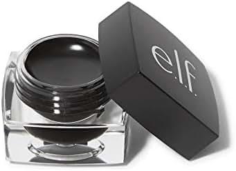 e.l.f. Cosmetics Cream Eyeliner, Create a Precise, Defined Look   Black 0.17 oz (1-Unit)