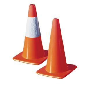 TruForce Economy Traffic Cone, 36'', 10 lb (10 Pack)