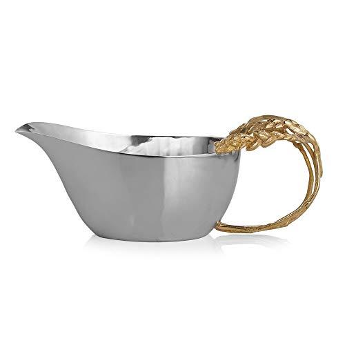 Michael Aram 174017 Wheat Gravy Boat, Gold by Michael Aram (Image #1)