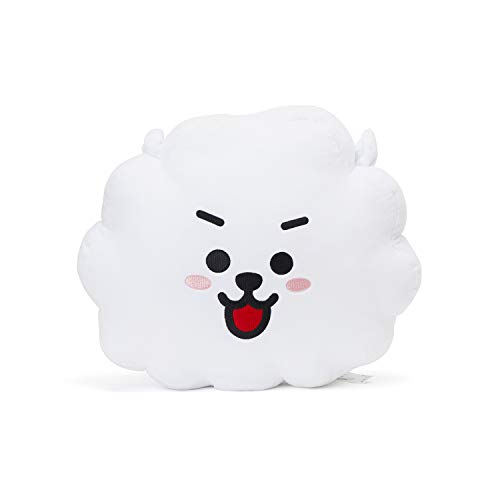 LINE FRIENDS BT21 Official Merchandise RJ Smile Decorative Throw Pillows Cushion, 16.5 ()