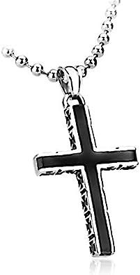 collier avec croix pour homme