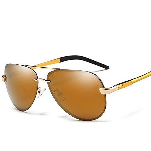 de clásicas F Sol Gafas Grandes Hombres ZhongYi Gafas de polarizadas Sol para aq7SUUx5w