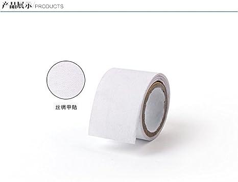 Cattie Girl - Protector de uñas de fibra de vidrio resistente, perfecto para uñas de gel acrílico UV, autoadhesivo, fibra de vidrio, envoltura de seda, ...