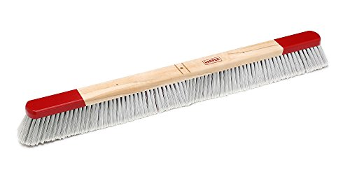 Harper Brush 353612 Broom Head, Polystyrene Fiber, All Purpose, Semi Rough Surface, Maple, 36'' (Pack of 12) by Harper Brush