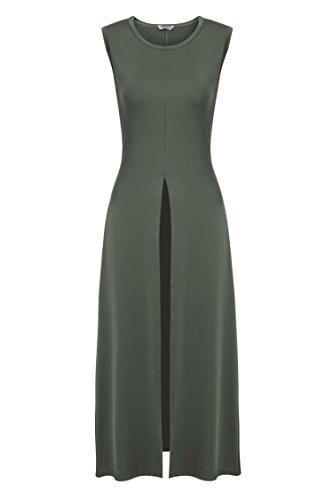 Buy long tight dress with split - 7
