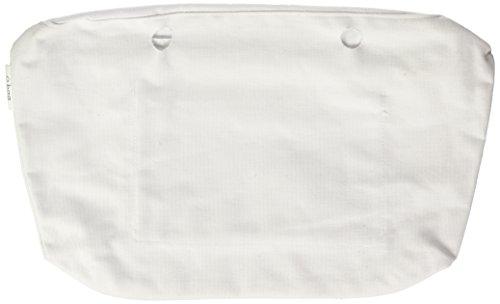 O bag OBCV01, Borsa a Mano Donna, 29x25x9 cm (W x H x L) Bianco