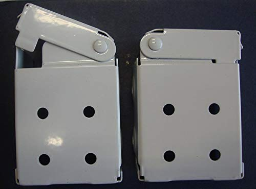 (Amazing Drapery Hardware Low Profile Mounting Brackets for Faux & Wood Horizontal Blinds (1 Pair))