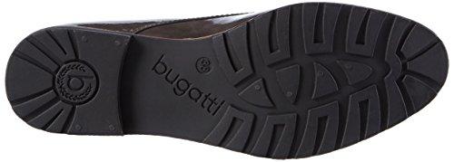 Bugatti V6901pr6l, Zapatos de Cordones Derby para Mujer Gris