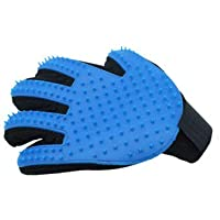 Five Finger Deshedding Glove,Grooming Brush For Dogs and cats, Pet Grooming Glove