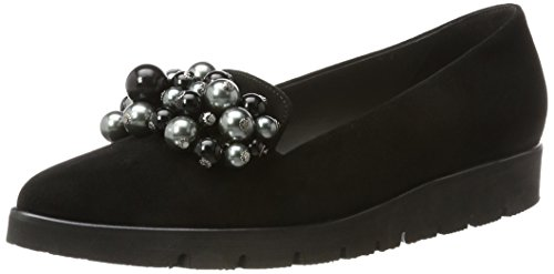 Schwarz Black Women's Peter Cremara 5 UK Suede 240 4 Black Loafers Kaiser zn7S8wqZf