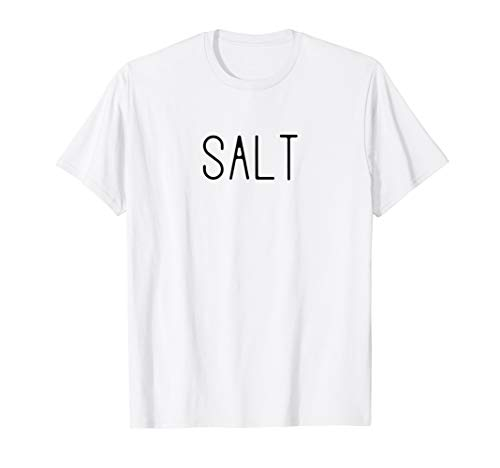 SALT TSHIRT- Salt and Pepper Halloween Costumes for Couples]()