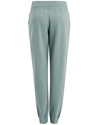 oodji Ultra Mujer Pantalones de Punto Deportivos Verde (6C00N)