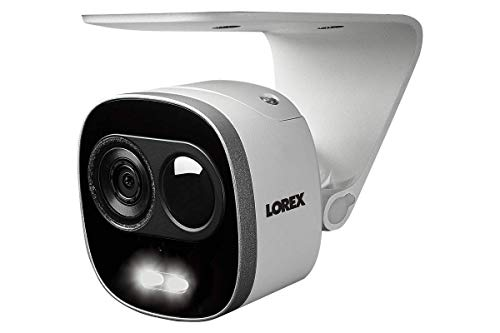Lorex 4K Ultra HD Security System, HD Active Deterrence Wired Security Cameras w/Long Range Color Night Vision (6 Pack)- Includes 8-Channel NVR w/2 TB Storage Hard Drive