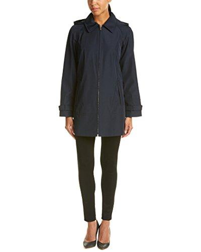 Jones New York Womens Swing Raincoat, M