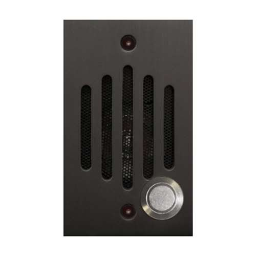 Channel Vision IU Door Speaker with Camera, Oil-Rubbed Bronze - P-0930 Compatible by Channel Vision