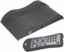 Ge Jasav22730 Digital Set-Top Converter Box by GE