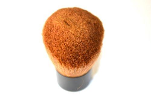 Silk Glow Brush (Trim Silk Kabuki Brush. Natural Bristles. 1ct.)