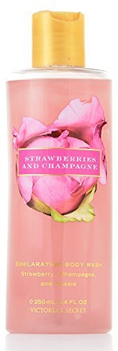 Victoria's Secret Garden Strawberries and Champagne Exhilarating Body Wash 8.4 oz ()