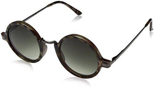 A.J. Morgan Otis Round Sunglasses, Olive Tortoise, 45 mm