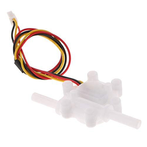 Homyl Interruptor De Flujo De Agua 3-10L-min-Water-Flow-Hall-Sensor-Flowmeter-G1-4-034-for-6-35mm-PE-Pipe - 0.25-2.5L