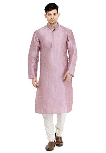 - Kurta Pajama for Men Long Sleeve Kurta Pyjama Set Indian Party Wedding Clothing Wine