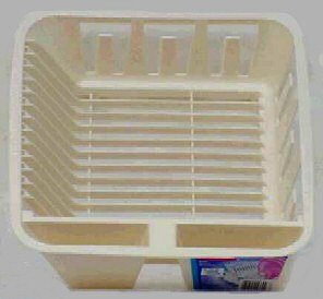 Rubbermaid Twin Sink Dish Drainer 12-1/2