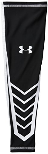 Under Armour Men's Undeniable Shooter Sleeve II, Black/White, Large/X-Large