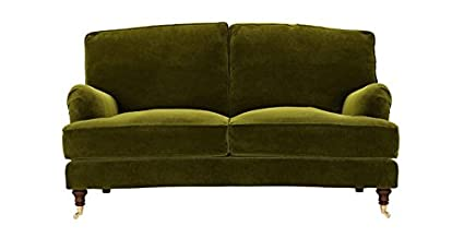 Awe Inspiring Bluebell Two Seat Sofa In Olive Green Sofas Amazon Co Uk Beatyapartments Chair Design Images Beatyapartmentscom