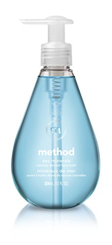 - Method Gel Hand Wash, Sea Minerals, 12 Ounce