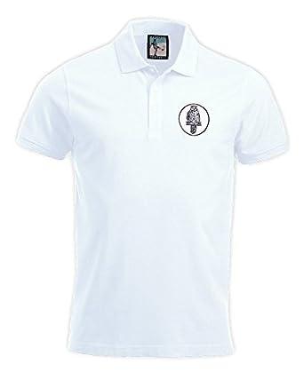 Camiseta tipo Polo Old School, retro, del equipo de fútbol Leeds ...