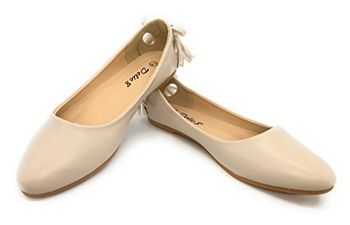 Flats Nude Casual Women's EASY21 72 Shoes Ballet Blue Fashion Ankle Strap Berry IxwBttvS