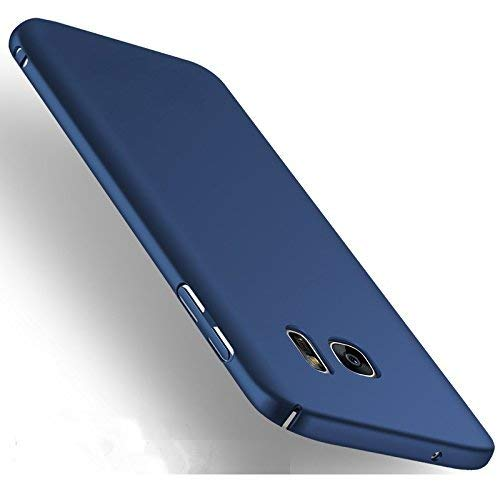 Zelq Back Cover for Samsung Galaxy S6 Edge Polycarbonate/Blue