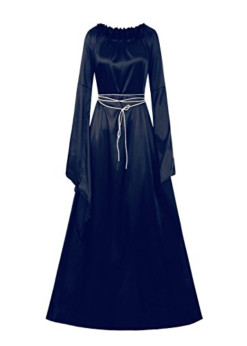 Taoliyuan Womens Medieval Renaissance Retro Gown Vintage Costume (Renaissance Medieval Dress)