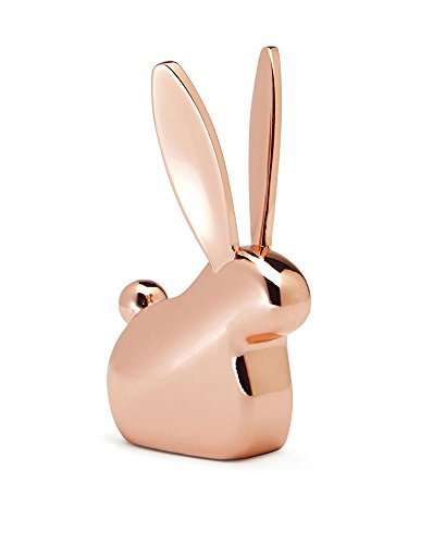HomyDelight Umbra Copper Ring Holder - Animals 1 lbs 1.13'' 2.75'' 1.88'' Bunny by HomyDelight