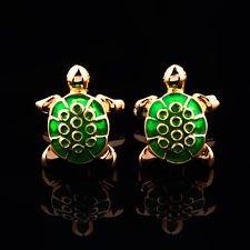 [Blazers Proforms Costumes - Novelty Animal Turtle Tortoise Men's Shirt Suit wedding Cufflinks] (Turtles Suit)
