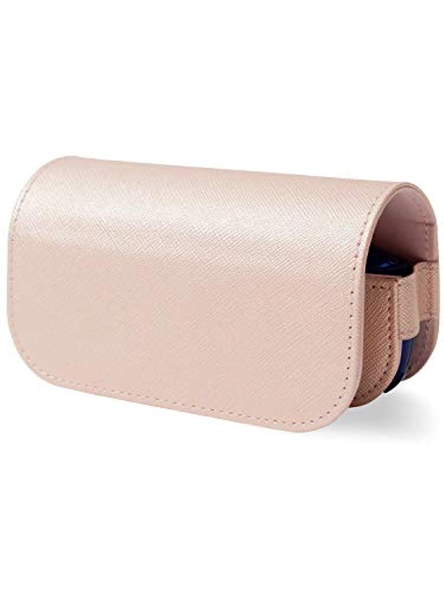 [해외] HIGH FIVE 아이고스3 케이스 신형 IQOS3 전용 케이스 사후아노레져 가죽 콤팩트 파우치 작 마그넷식 전자 토바코 커버 본체 heat 스틱 전부 수납 홀더 핑크 골드