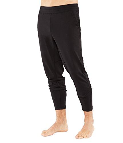 Manduka Men's The Now Pants, Black, Large Review