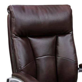 Remarkable Amazon Com Alain Office Brown Bonded Leather Chair With Pabps2019 Chair Design Images Pabps2019Com