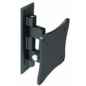 """Black Full-Motion Tilt/Swivel Wall Mount Bracket for Vizio D28h-D1 28"""" inch LED Smart TV - Articulating/Tilting/Swiveling"""