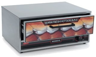 NEMCO BUN WARMER, FITS 8018 ROLLER GRILL Model 8018-BW-220