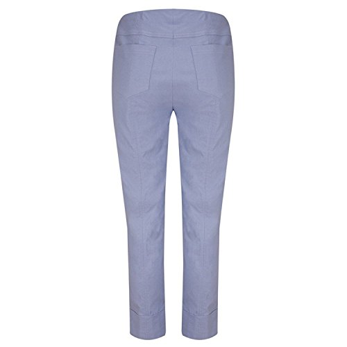 Winter Femme Pantalon Robell Jambe Stahlblau Droite cB6wp4fW